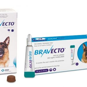bravecto chews and drops