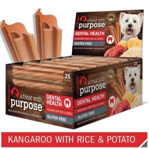 evolution dog treat kangaroo