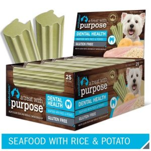 evolution dog treat seafood