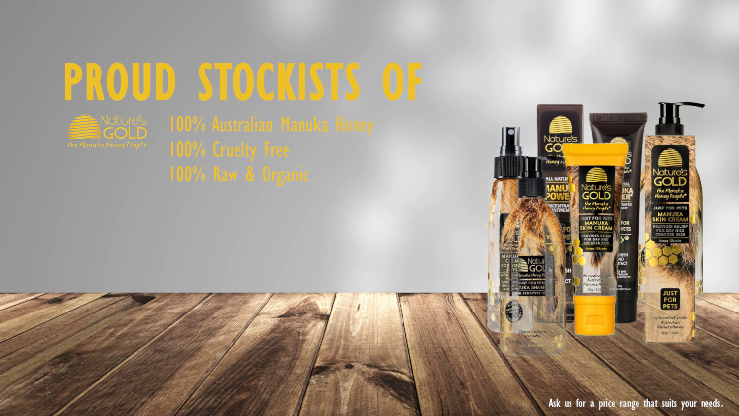 natures gold stockists